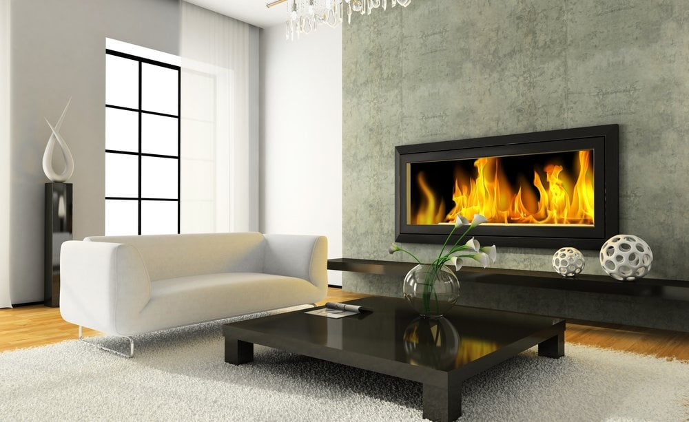 spring themes fireplace design